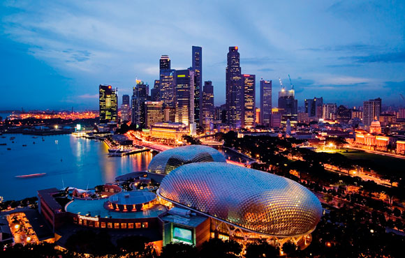 Singapore Pil crollo record